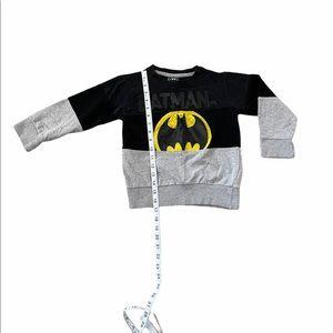 Batman Pullover Sweater Boys Sz 6